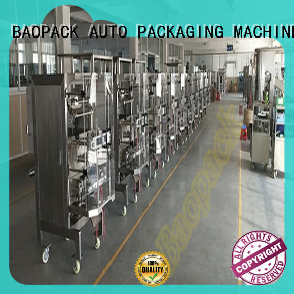 BAOPACK counting multihead weigher packing machine factory price for chips