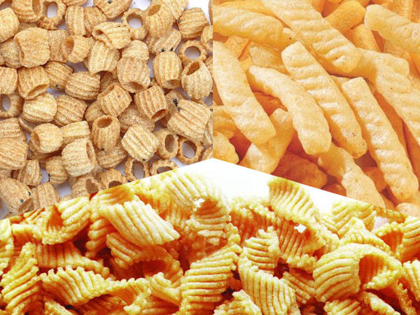 French Fries Chips Snacks vertical form fill seal packing machines automatically from Baopack