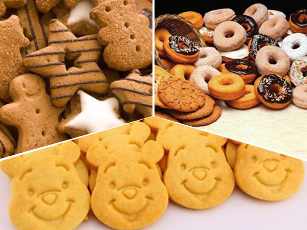 Various cookies vertical form fill seal packing machines automatically from Baopack