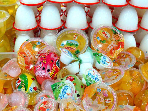 Jelly vertical form fill seal packing machines automatically from Baopack