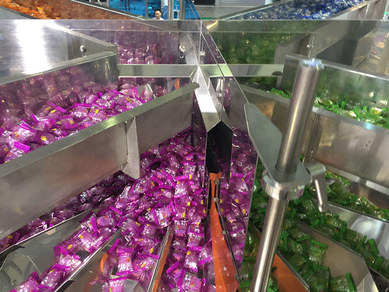 Candy vertical form fill seal packing machines automatically from Baopack