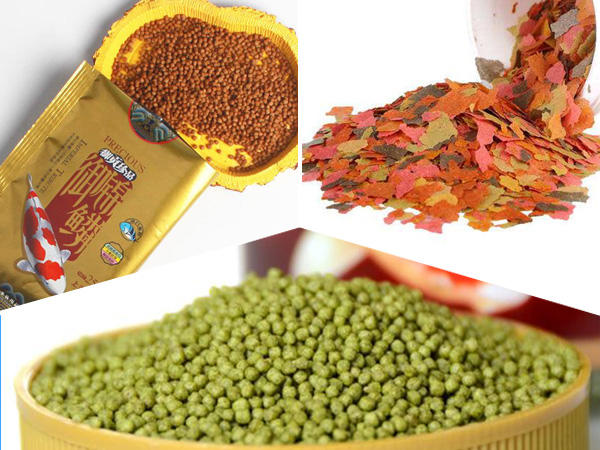 Pet Food-Fish food  /  vertical form fill seal by packing machines automatically from Baopack