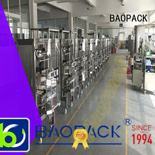 BAOPACK automatic multihead weigher packing machine supplier for chocolate