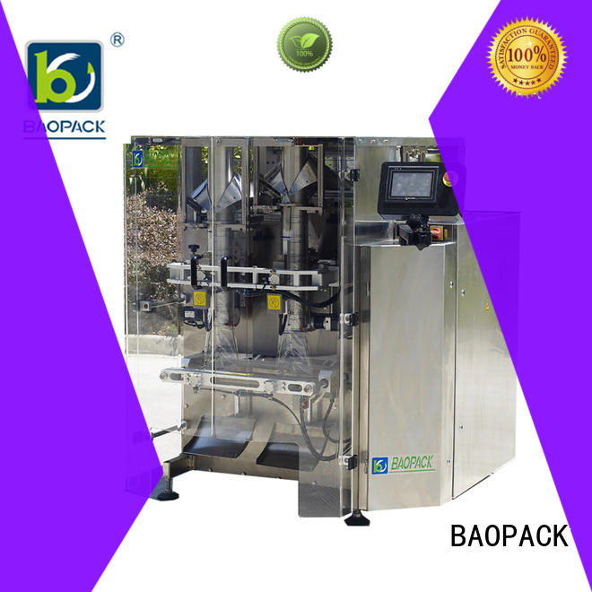 BAOPACK automatic mini pouch packing machine price supplier for plant