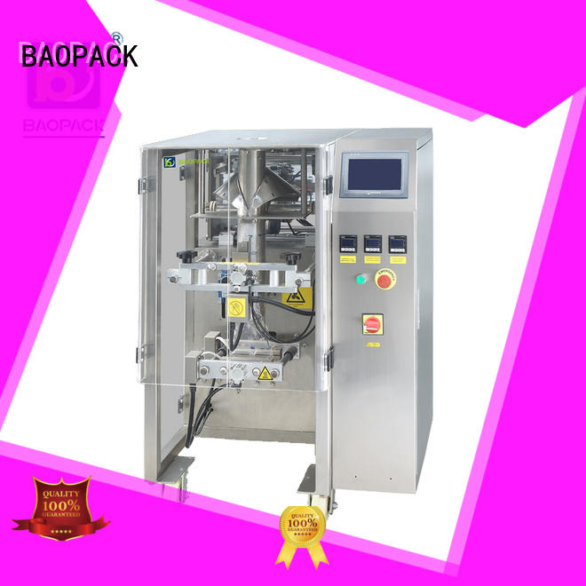 BAOPACK seal automatic pouch packing machine supplier for commercial