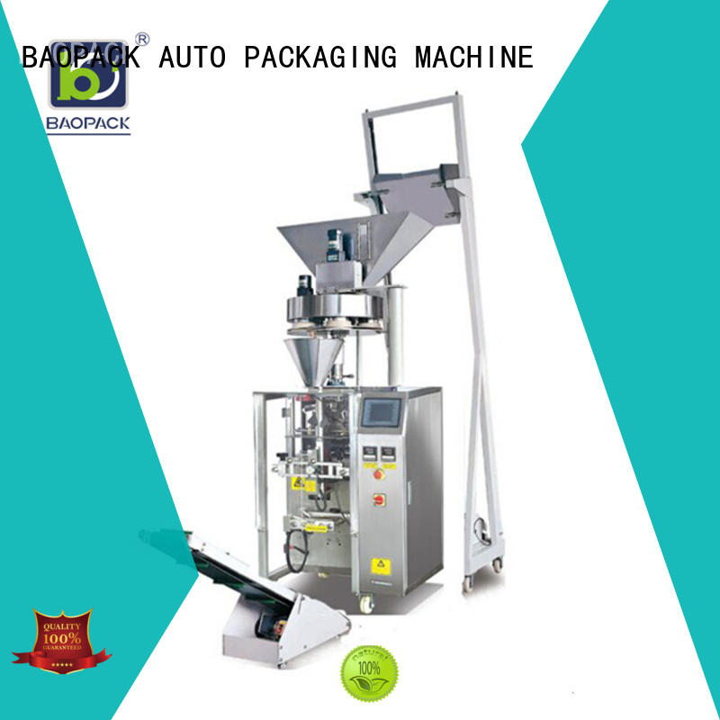 BAOPACK quadro vertical form fill seal packaging machines factory for plant