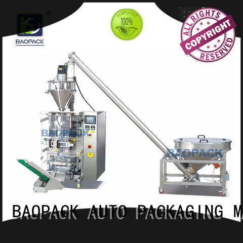 BAOPACK sachet form fill seal machine manufacturers directly sale for plant