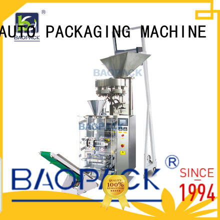 bags volumetric filler biscuits BAOPACK company