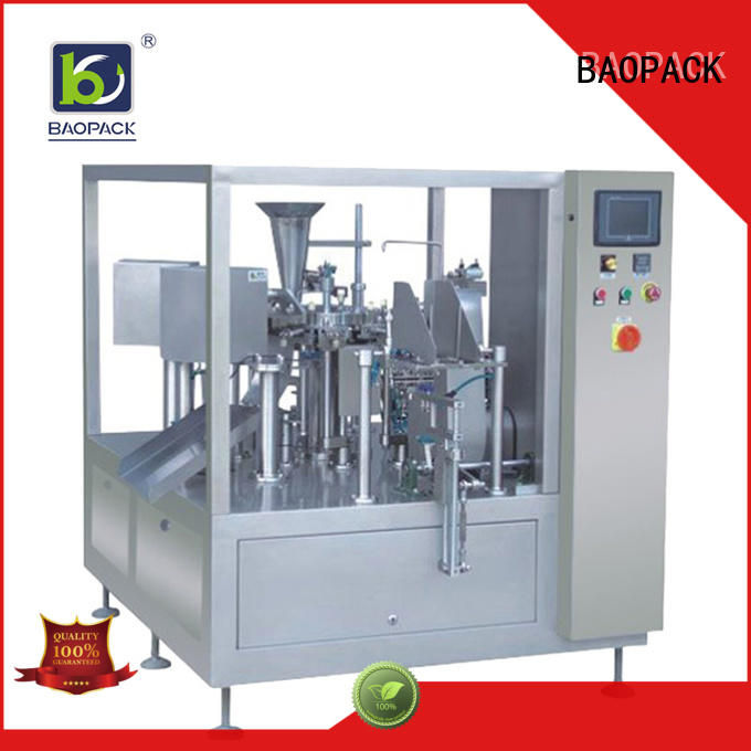 BAOPACK balls automatic pouch packing machine supplier for industry