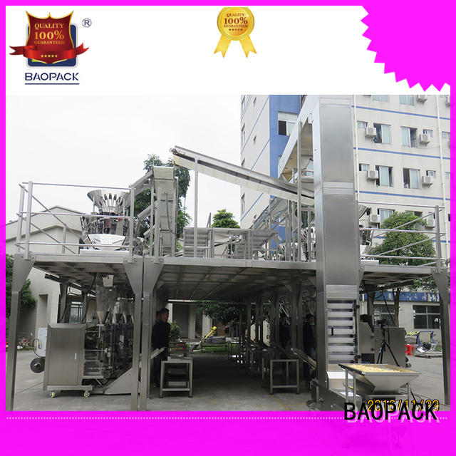 BAOPACK degas vffs packing machine factory price for commercial