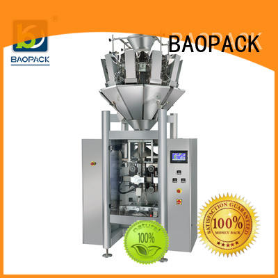 BAOPACK grain vertical form fill seal machine wholesale for commercial