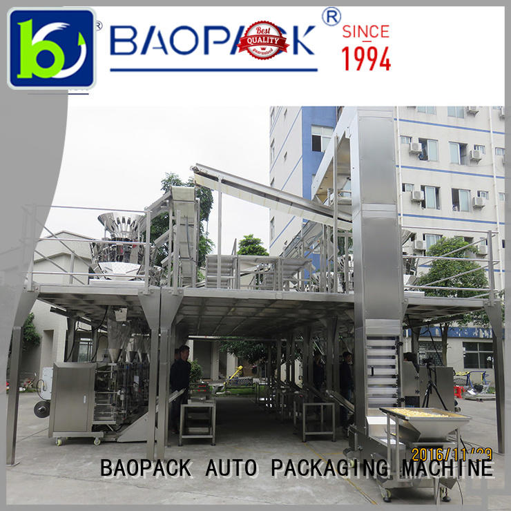BAOPACK automatic multihead weigher packing machine factory price for commercial