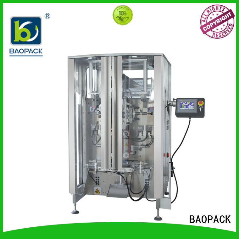 BAOPACK multifunction pillow bag packaging machine pillow for plant