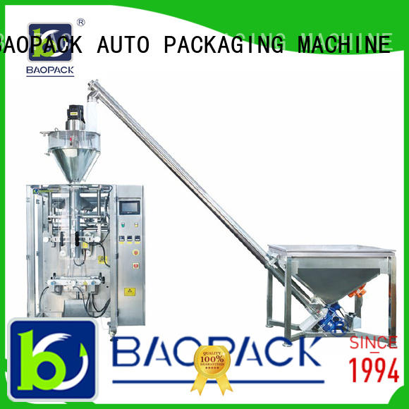 BAOPACK multifunction auger filler bags for commercial