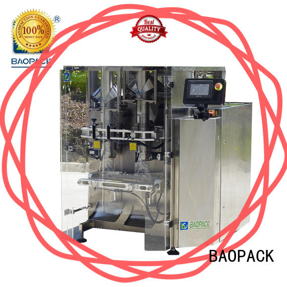 automatic automated packaging machine bags factory price for commercial