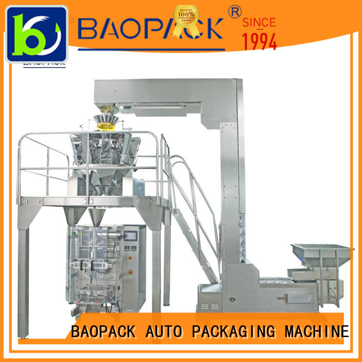 degas multihead weigher packing machine tea factory price for plant