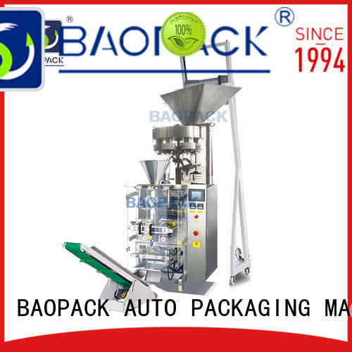 proof sealed volumetric filling machine pillow BAOPACK