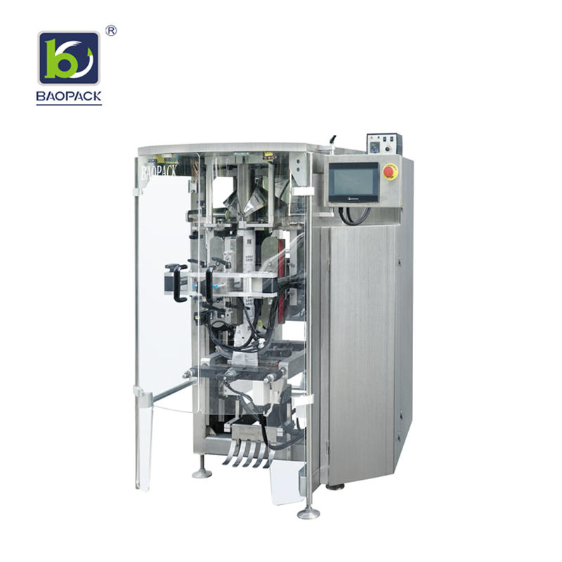BAOPACK New Design High Speed Automatic Vertical Pouch Form Fill Seal Beans Nuts Candies Fruit Chips packing machine CB-VG42A