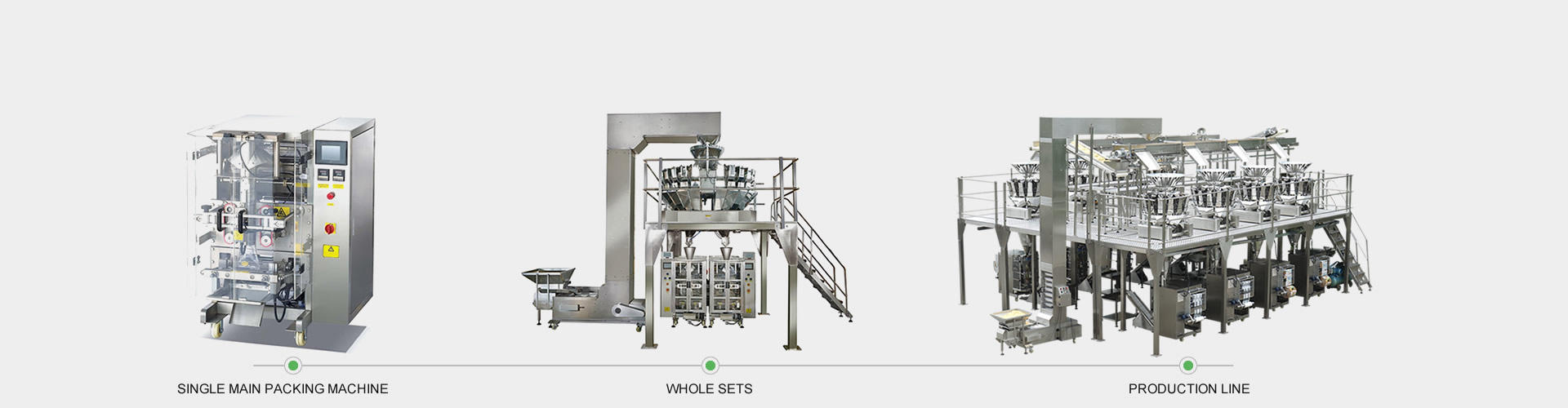 BAOPACK New Design High Speed Automatic Vertical Pouch Form Fill Seal Beans Nuts Candies Fruit Chips packing machine CB-VG42A-BAOPACK