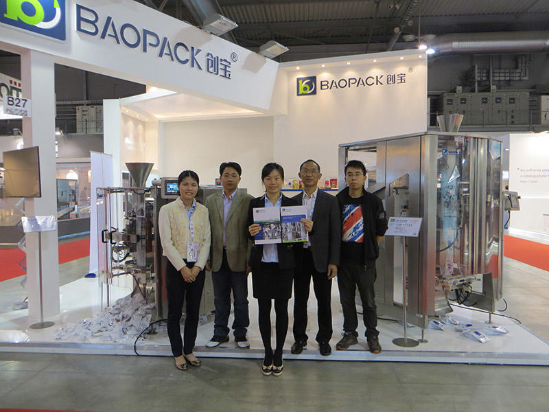 2015 05 IPACK IMA, ITALY, Booth No.  Hall 7, B27
