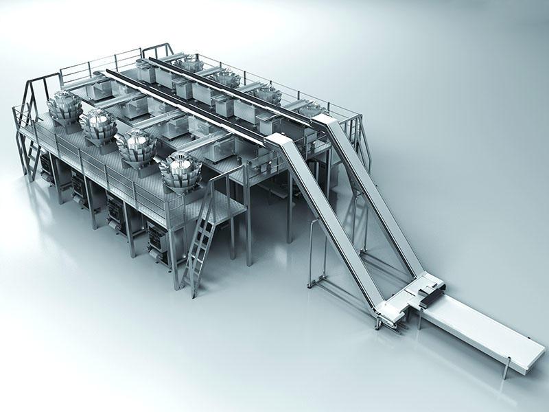 Horizontal fast return conveyor packaging solution