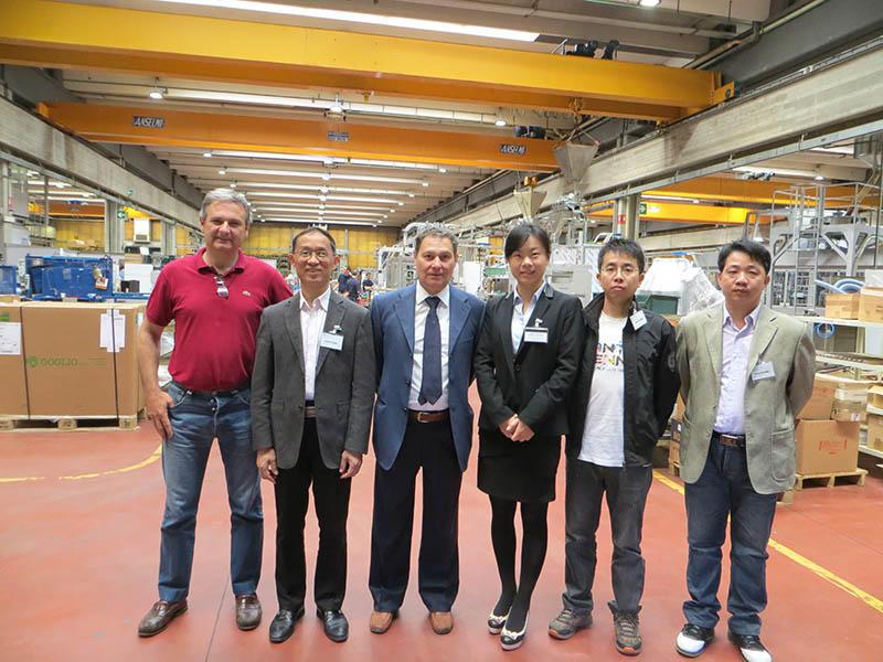 2015 Italy Exhibition - Italian Customer Factory