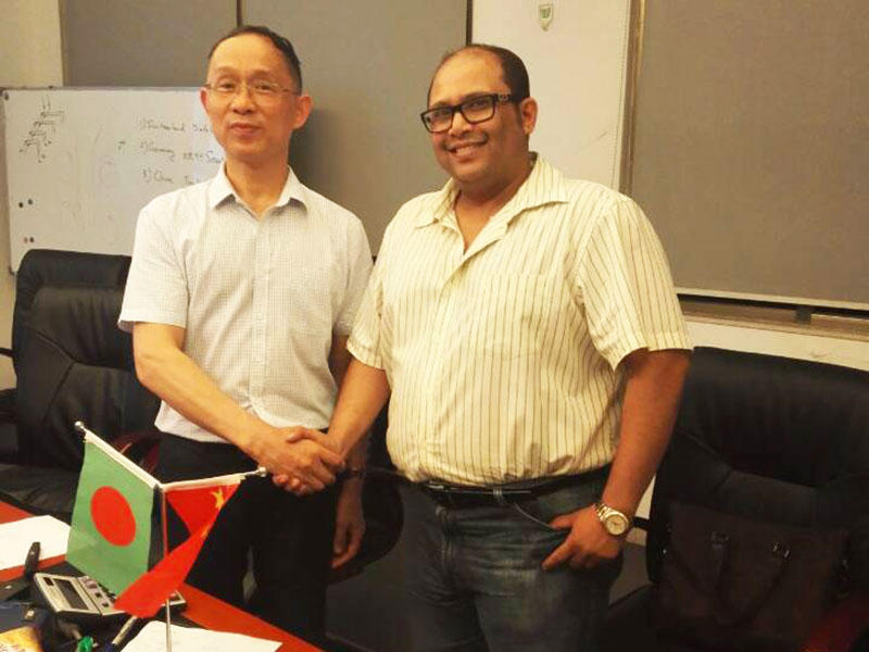 At the end of 2016, Rongjie Bangladesh customer