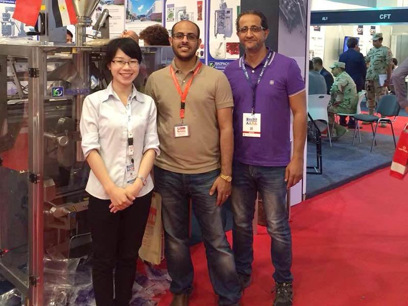Egypt Exhibition - Yemen customers