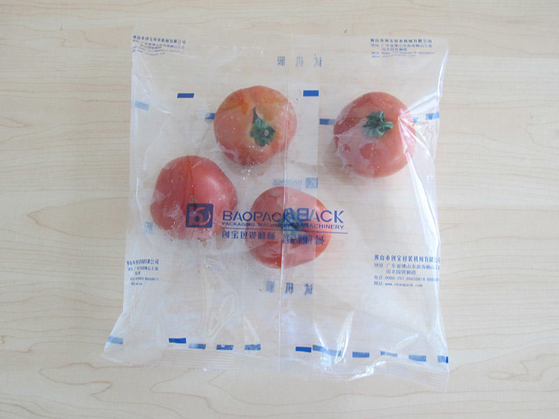 Pillow Bags-7 vegetables bags form fill seal by packing machines automatically from Baopack