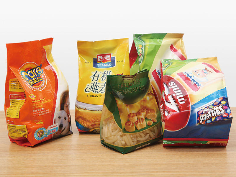 Quadro Sealed bags-4 / 4 edges sealed vertical form fill seal by durable packing machines automatically from Baopack