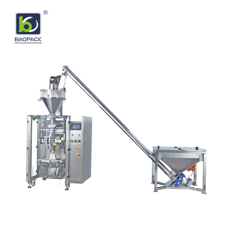 BAOPACK Baopack Small 3side or 4side Sealed Bags  Automatic Multi-function Spice Chilli Milk Powder Packing Machine CB-VS36 Powder Auger Filler VFFS Packing Machine image5