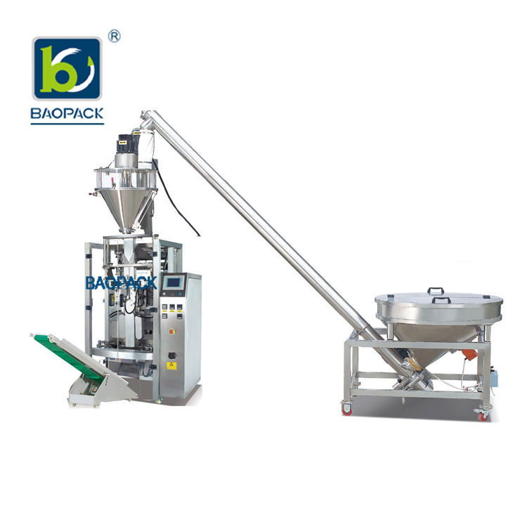 BAOPACK best quality vertical form fill and seal packaging machines with good price for industry-2