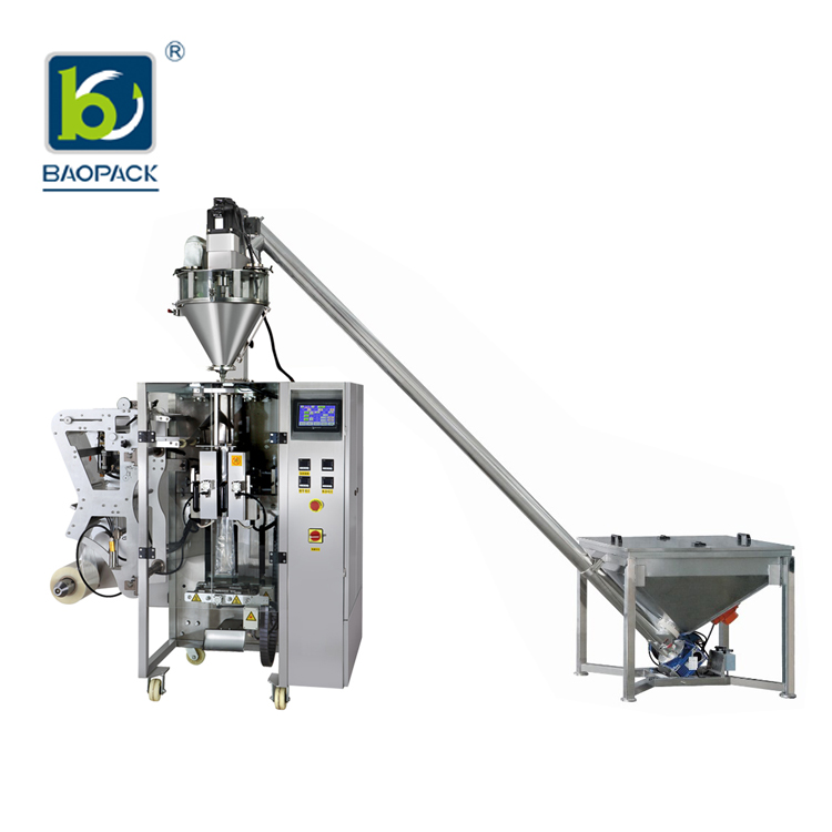 BAOPACK-powder packing machine | Powder Auger Filler VFFS Packing Machine | BAOPACK