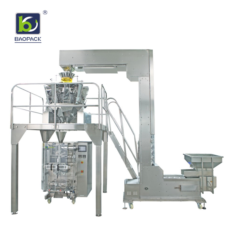 multihead vertical form fill seal machine banana personalized for commercial-2