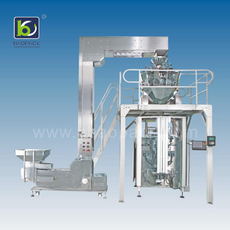 tea baopack multihead weigher packing machine nitrogen BAOPACK