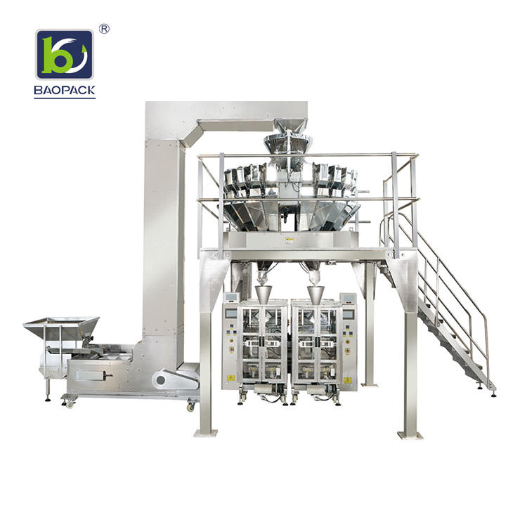 multihead weigher packing machine 14head supplier for chips