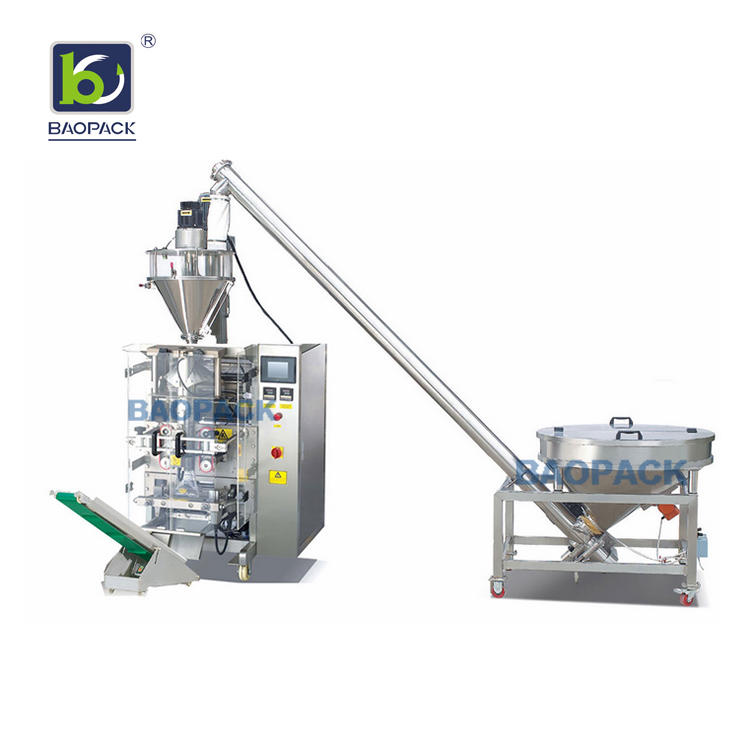 BAOPACK Automatic Auger Filler Screw Conveyor Grain Corn Rice Chilli Powder Packing Machine CB-VP42