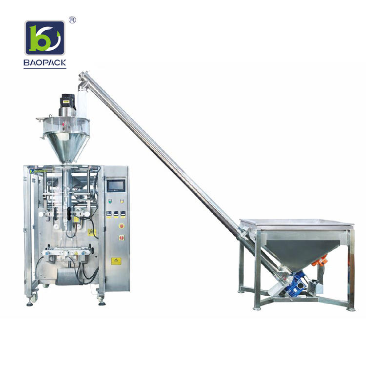 BAOPACK Automatic Auger Filler Or Volumetric Cups Small Sachet Stick Bags Coffee Powder Packing Machine CB-VP52
