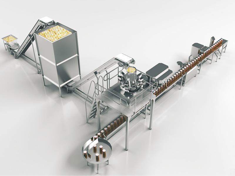Mixing material packaging machine
