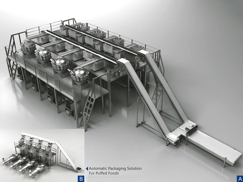 Fast-back conveyor distribution line (required 8 sets in the project)