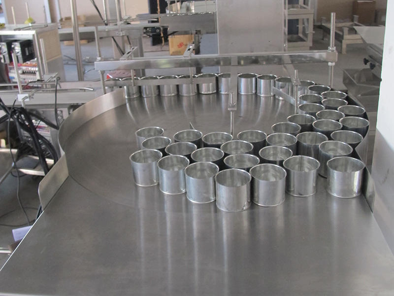 Cans packing productin line