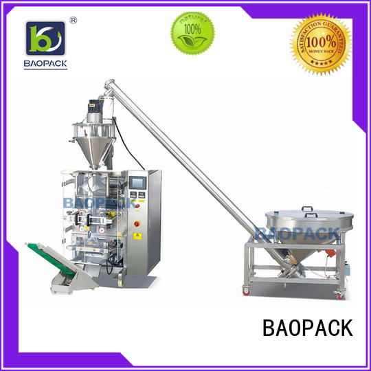 BAOPACK sachet auger filling machine directly sale for industry