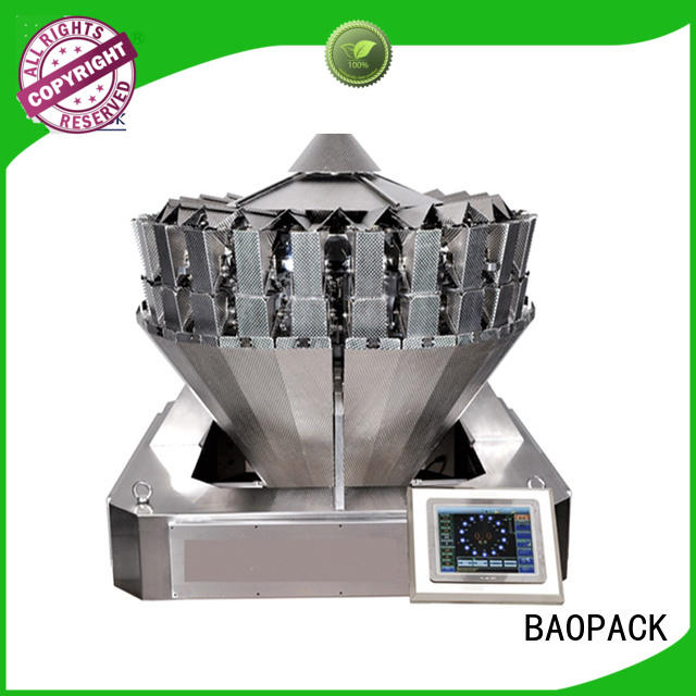 BAOPACK fast vffs packaging machine wholesale for sugar