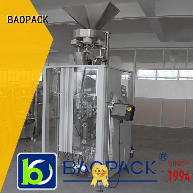 gusset snacks special volumetric filler BAOPACK manufacture