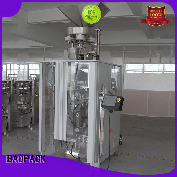 BAOPACK multifunction volumetric cup filler machine factory for commercial