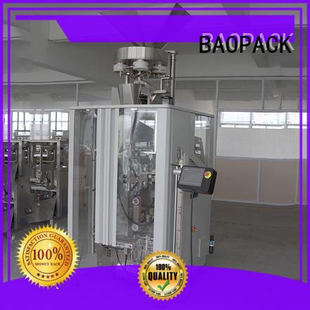 BAOPACK Automatic Volumetric Cups Quadro 4-side Sealed   Small Granule Powder Packing Machine CB-VT52A