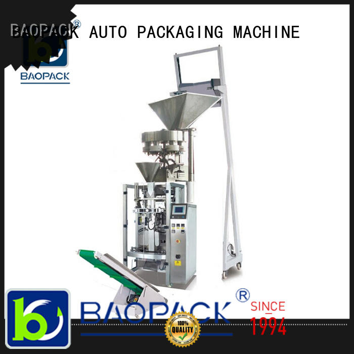 BAOPACK volumetric vertical form fill and seal packaging machines design for industry