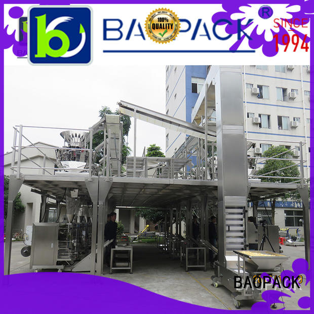 combination pouch BAOPACK Brand automatic weighing and packing machine