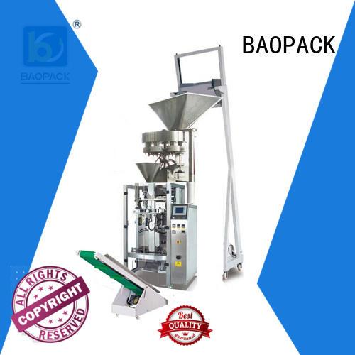 gusset 4-side volumetric filling machine sachet BAOPACK Brand company