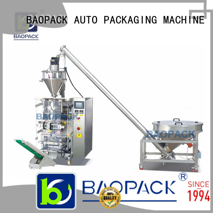 auger filler coffee 4-side powder packing machine chilli company